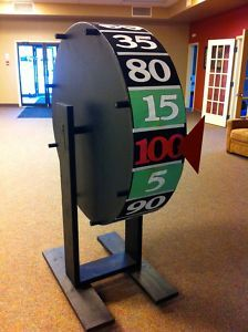 Price is Right Big Wheel for Rent Special Event Rentals