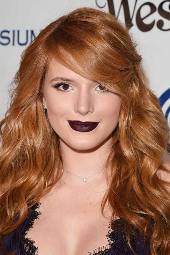 Bella Thorne at the 2016 Art of Elysium Heaven Gala. http://beautyeditor.ca/2016/01/22/best-beauty-looks-lupita-nyongo:
