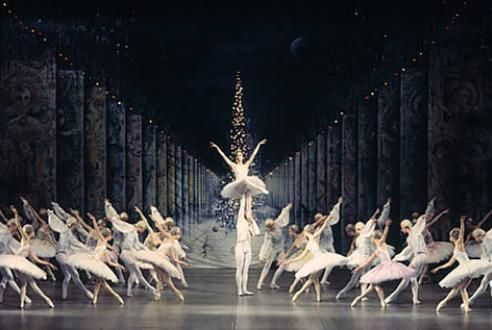 my dream was to someday be the snow queen in the nutcracker ballet