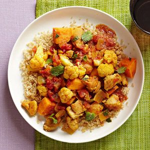 Chicken, Sweet Potato and Cauliflower Vindaloo