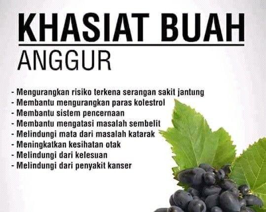 Manfaat Buah Anggur Untuk Wajah