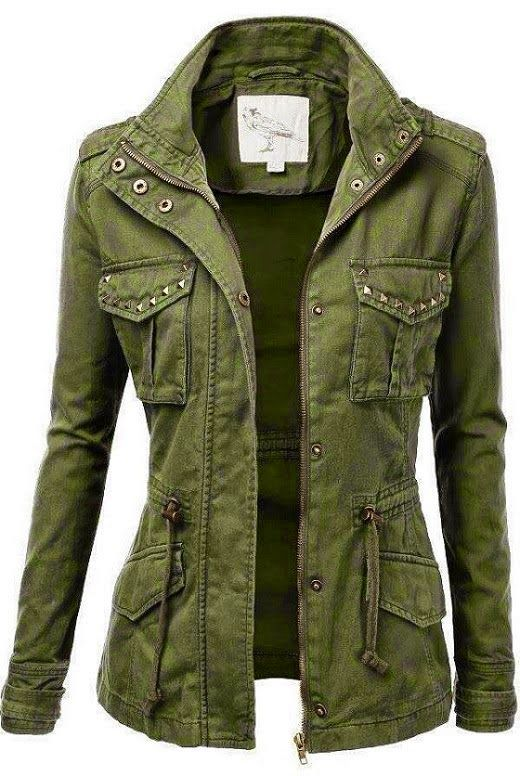 don't like the pocket studs, but do like that it is more fitted in the body. Maybe less pea green?