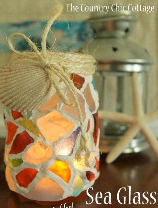 Beach home decorating craft ideas and handmade on pinterest for Summer craft ideas for adults