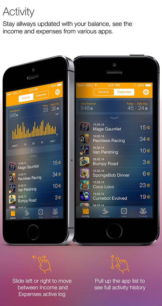 Coopsi App on App Design Served