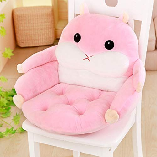 Toysofa Cartoon Kid Back Support Chair Cushion Hamster Plush Suffed Bean Bag Chair Cute Soft Crystal Velvet Kid Sofa C Kids Sofa Chair Kids Sofa Bean Bag Chair