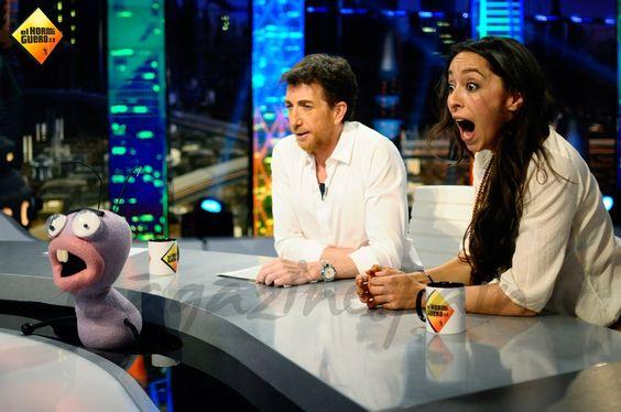 """Oona Chaplin y Pablo Motos en """"El Hormiguero 3.0"""" © Atresmedia"""