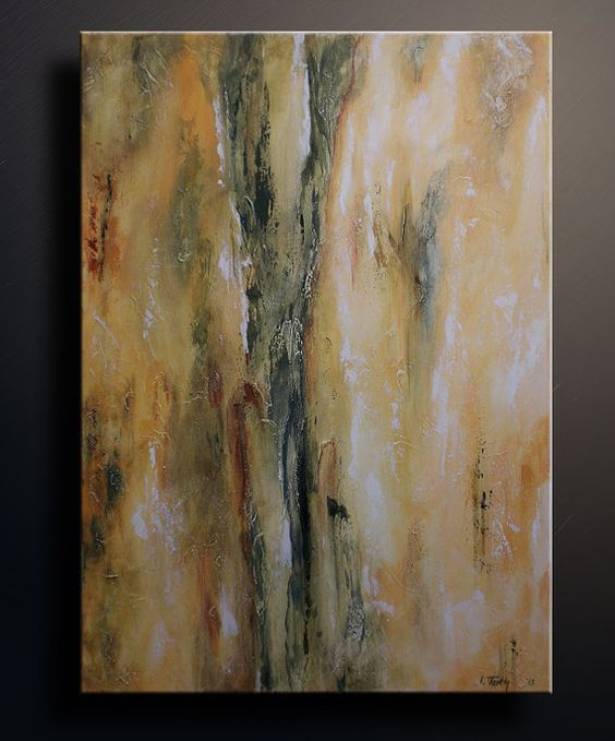 Acrylic paintings paintings on canvas and acrylics on for Textured acrylic abstract paintings