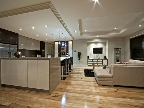 Modern Kitchen And Living Room perfect modern kitchen and living room design on inspiration