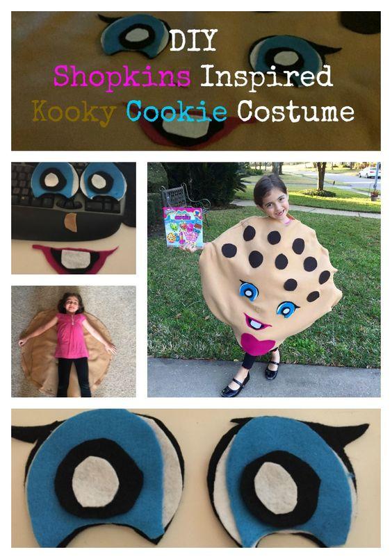 DIY Shopkins Inspired Kooky Cookie Costume!
