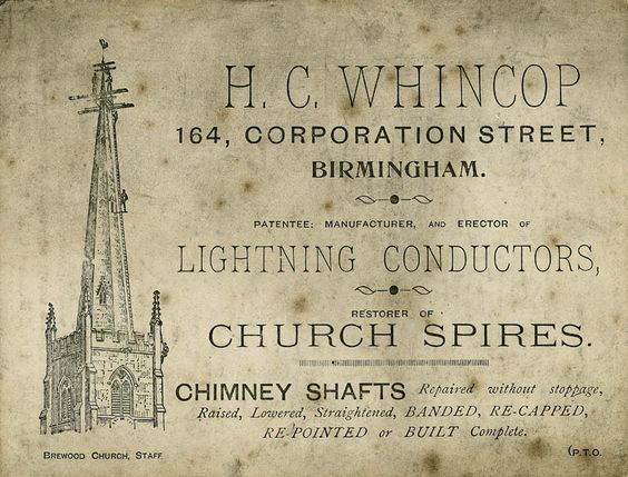 H. C. Whincop - Lightning Conductors