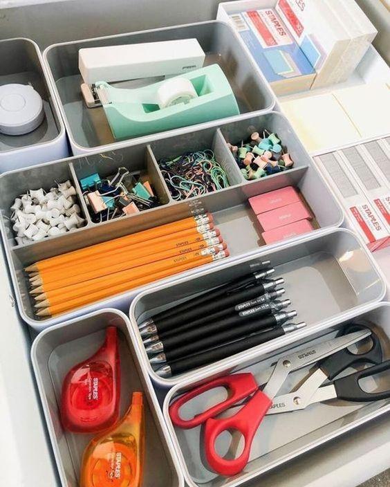 10 idées pour organiser son bureau