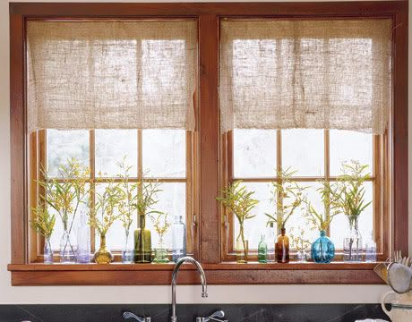 Dreaming: Kitchen Window Treatment Ideas & Inspiration {blinds, shades ...