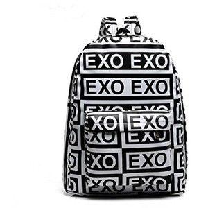 "KPOP ""Back To School Season""EXO Bigbang Schoolbag EXO-K EXO-M GD G-Dragon PU Backpack Satchel"