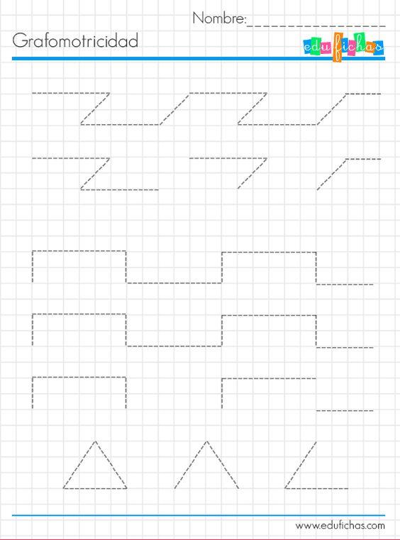 grafo infantil cuadriculada 3
