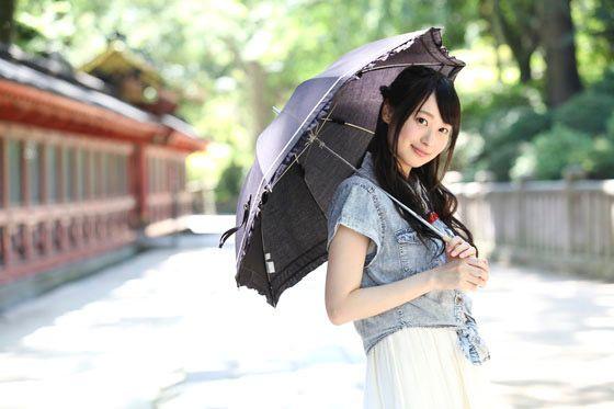 日傘と山下七海