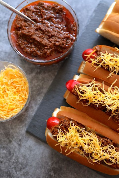 Schwab Meat Chili Cheese Hot Dogs Recipes Meat Chili Chili Cheese Hot Dog