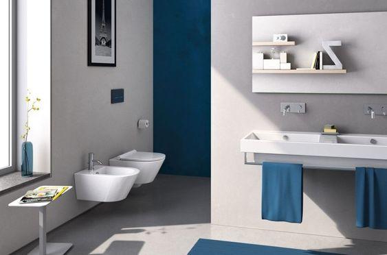 Toilette Suspendu Pourquoi Et Comment L Integrer Dans Son Decor Toilette Suspendu Design De Salle De Bain Decoration Maison