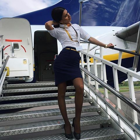 Women In Panties Flight Attendants Scenes