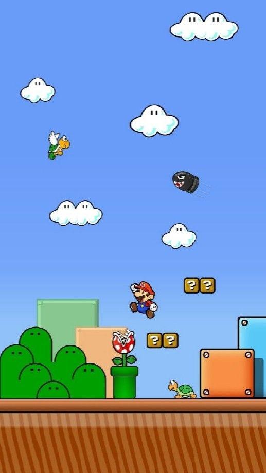 Wallpaper De Mario Bros Papel De Parede Nerd Papéis De Parede De Jogos Papel De Parede Para Iphone