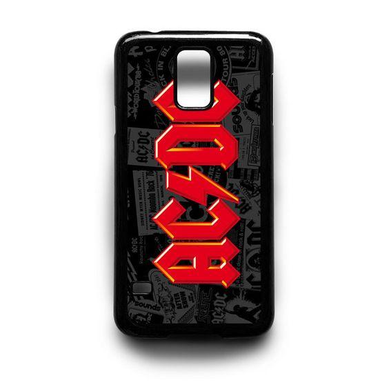 AC DC Samsung Galaxy S3 S4 S5 Note 2 3 4 HTC One M7 M8 Case