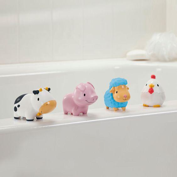 Barn Squirts - 4 Pack - Toys - Bath