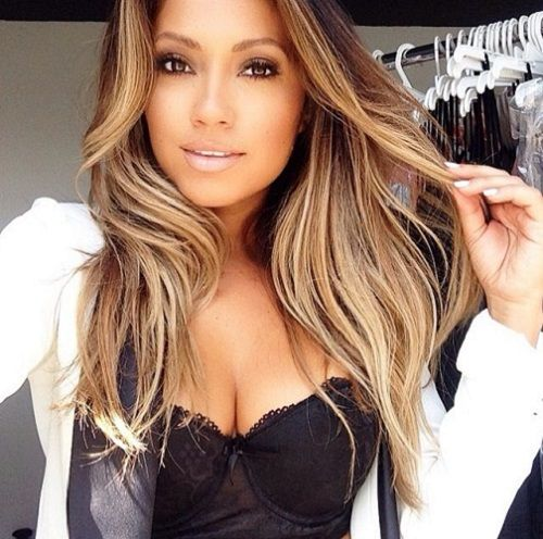 la coloration bronde de jessica burciaga coloration bronde cheveux blonde monvanityideal - Coloration Bronde