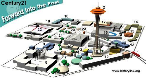 Seattle World's Fair Layout