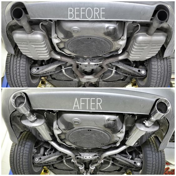 Audi A4 B7 w/ killer APR Exhaust system - YouTube