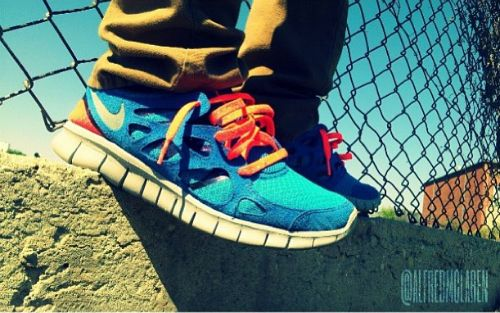 95ea0977eb55 ... Doernbecher nike free run 2 mid on feet nike free runs sneakerhead  pinterest nike shoes outlet nike ...
