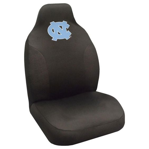 Ncaa - University of North Carolina - Chapel Hill Polyester 20 in. x 48 in. Seat Cover, Black