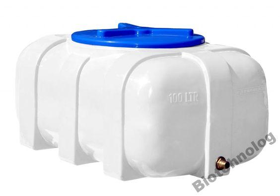 Бак, емкость 100 л овальная для воды, дизтоплива
