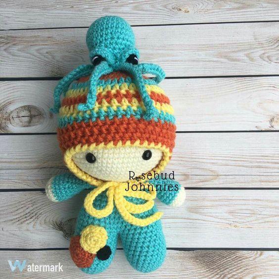 Amigurumi Bee Girl : Big Head Baby Doll Crochet Big Head Baby Dolls ...