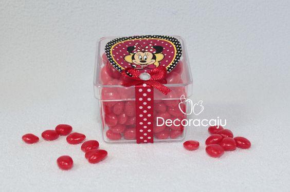 Lembrancinha Minnie. Faça seu Orçamento , believejuliane@hotmail.com siga no face Decoracaju