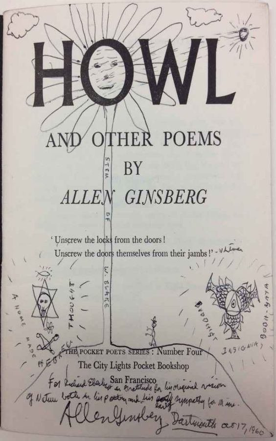 howl by allen ginsberg Directed by rob epstein, jeffrey friedman with james franco, todd rotondi, jon prescott, aaron tveit as allen ginsberg talks about his life and art, his most famous poem is illustrated in animation while the obscenity trial of the work is dramatized.