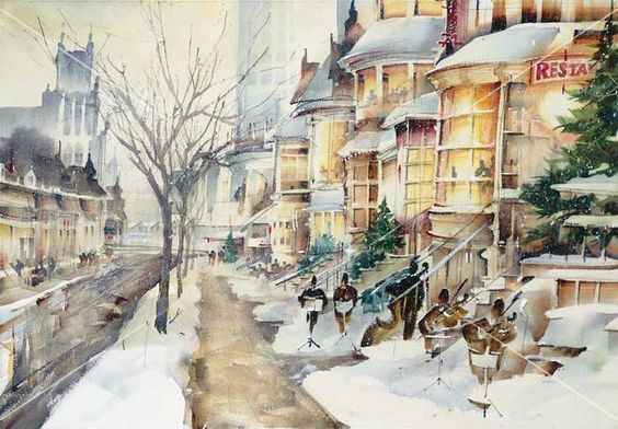 roland palmaerts watercolors - Google Search