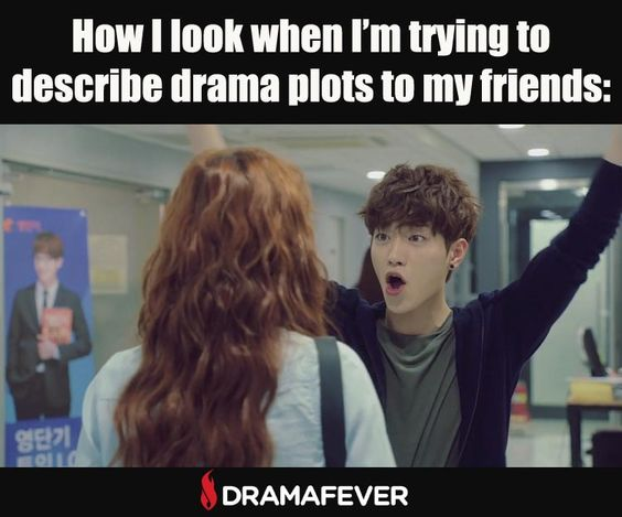 This is me every time! Watch Seo Kang Koon in the new series Cheese in the Trap tonight!