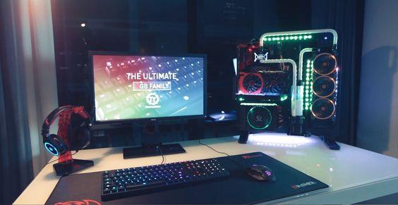 Thermaltake RGB Family - Full thermaltake RGB Core P5 Setup! + Give away in description - YouTube