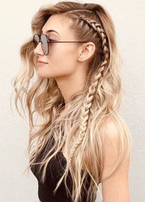 New Hairstyles That Make You Look Younger In 2020 Cool Braid Hairstyles Hair Styles New Braided Hairstyles