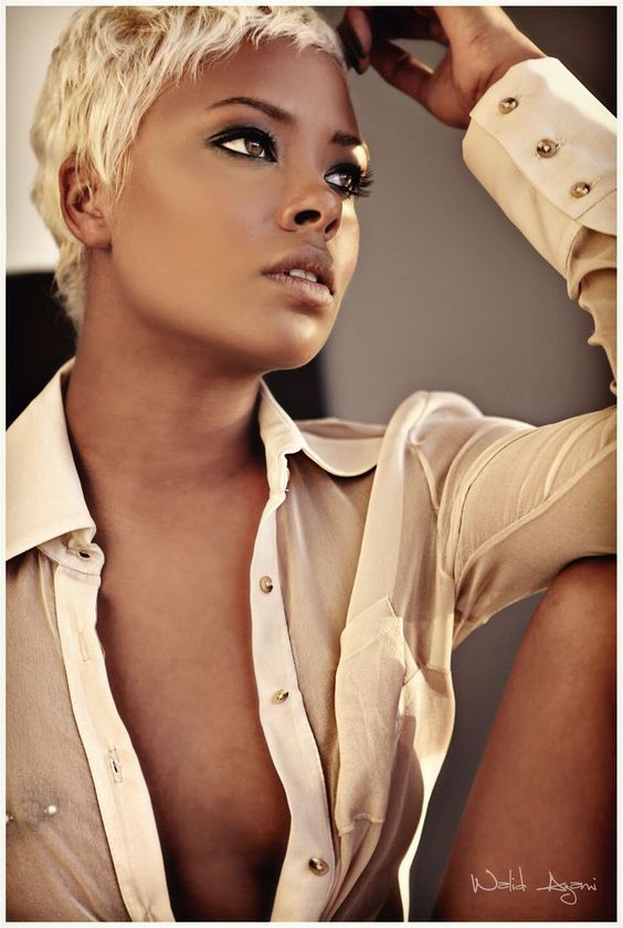 Eva Marcille. Love to hate her but I'm so happy to see how far she has went. Love her