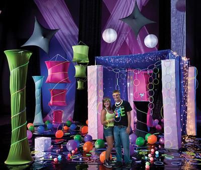 Black Light Party For High School Dance: Here are a few ideas for ...