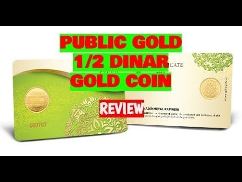 Public Gold 1 2 Dinar Gold Coin Collection Review Go Invest Gold Coins Gold Exchange Gold Cost