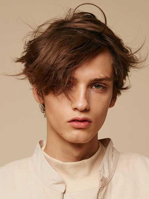 Mittlere Lange Manner Frisuren Die Sie Sehen Sollten Frisuren Lange Manner Gesicht Haar Styling Frisuren