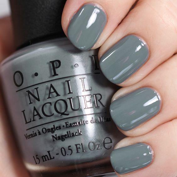 Day 11 of the #sallybeautychallenge features @OPI in Embrace the Grey. #50shadesofgrey