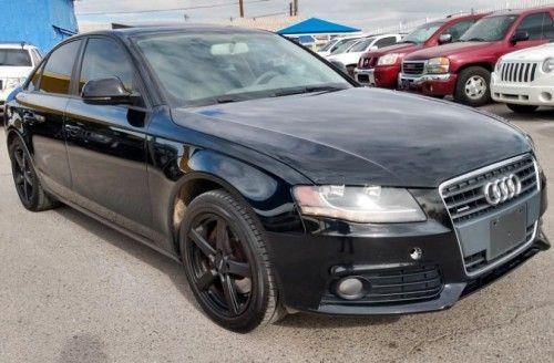 2009 Audi A4 2 0t In El Paso Tx 79915 Under 6000 Black Audi Audi A4 Black Audi A4