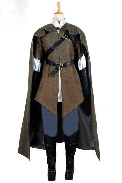 The Hobbit The Desolation of Smaug Legolas Cosplay Costume