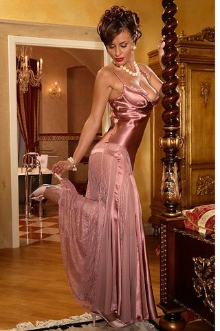 Lace, Satin and Nightgowns on Pinterest