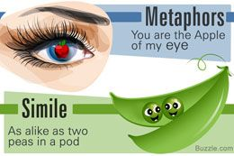 Metaphor and simile examples