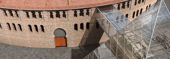 Plaza de toros de Villena by Damian Hernandez, via Behance