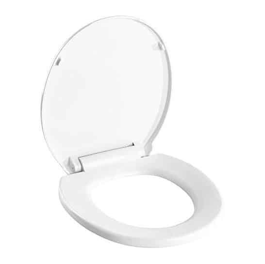 Pacific Bay Newport Round Soft Close Toilet Seat Toilet