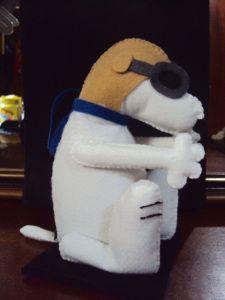 Peso de porta - Snoopy